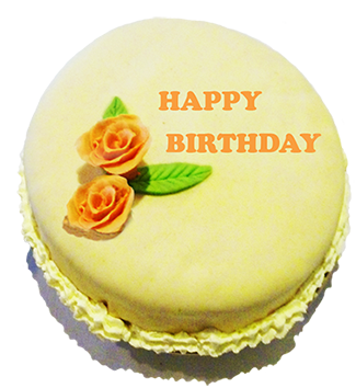 Happy Birthday Cake With Roses