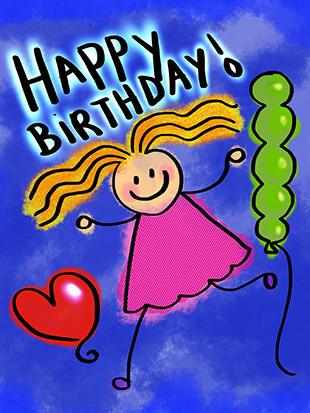 birthday card traditions
