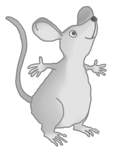happy cute mouse image
