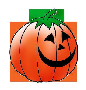 Pumpkin Head At Night, Happy Pumpkin Head