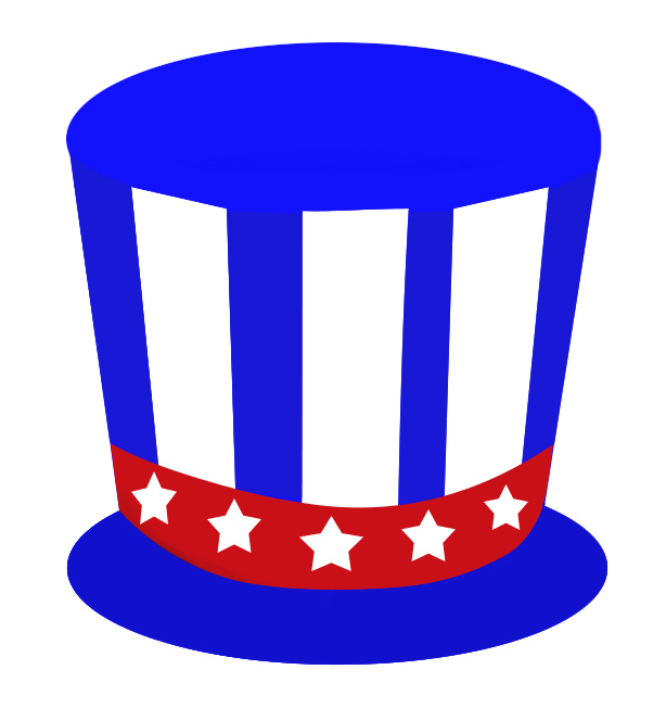 hat for 4th of july jpg rh clipartqueen com fourth of july clip art pictures fourth of july clip art images