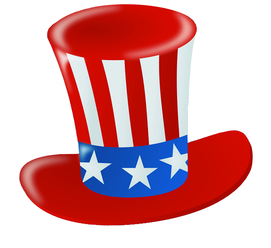 hat for Independence Day celebration