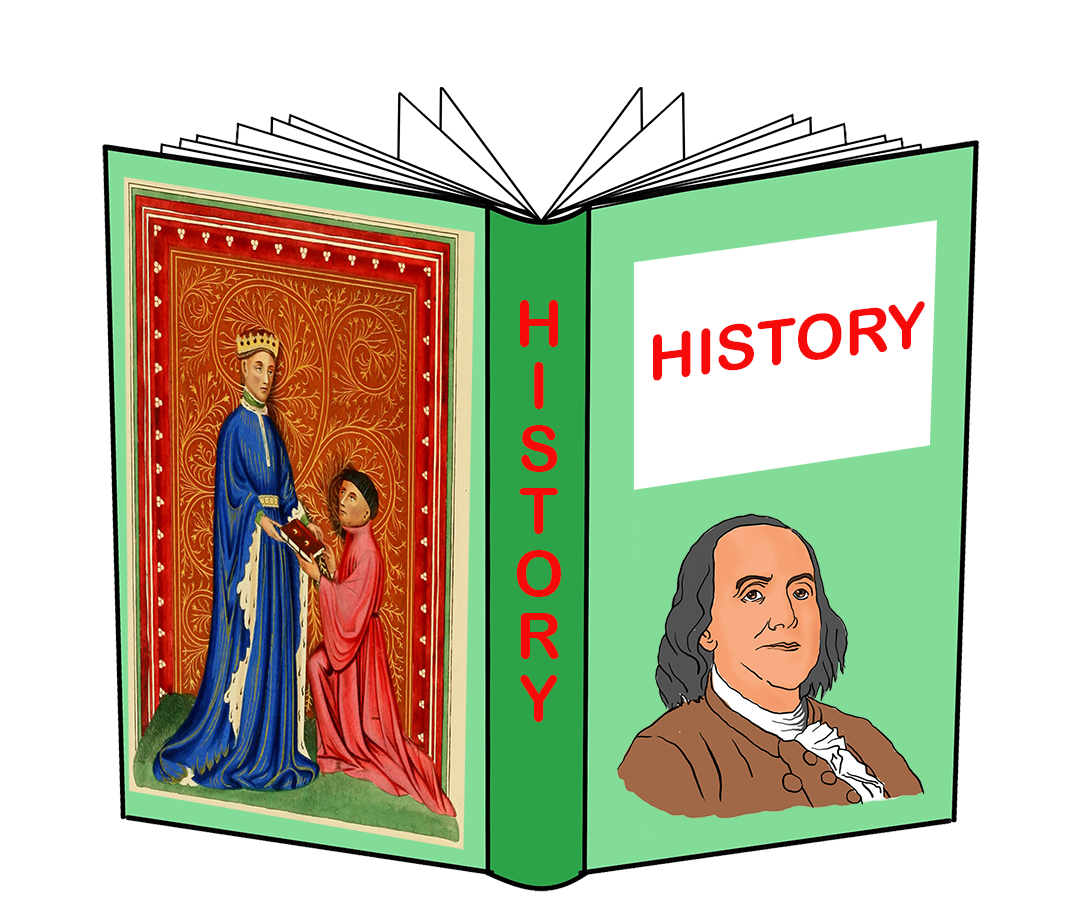 hisory book clipart