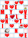 Holiday clipart Valentine greeting card