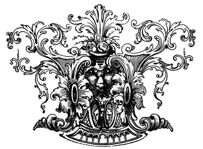 beautiful Victorian ornament
