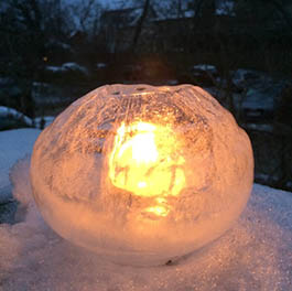 winter clipart ice lantern