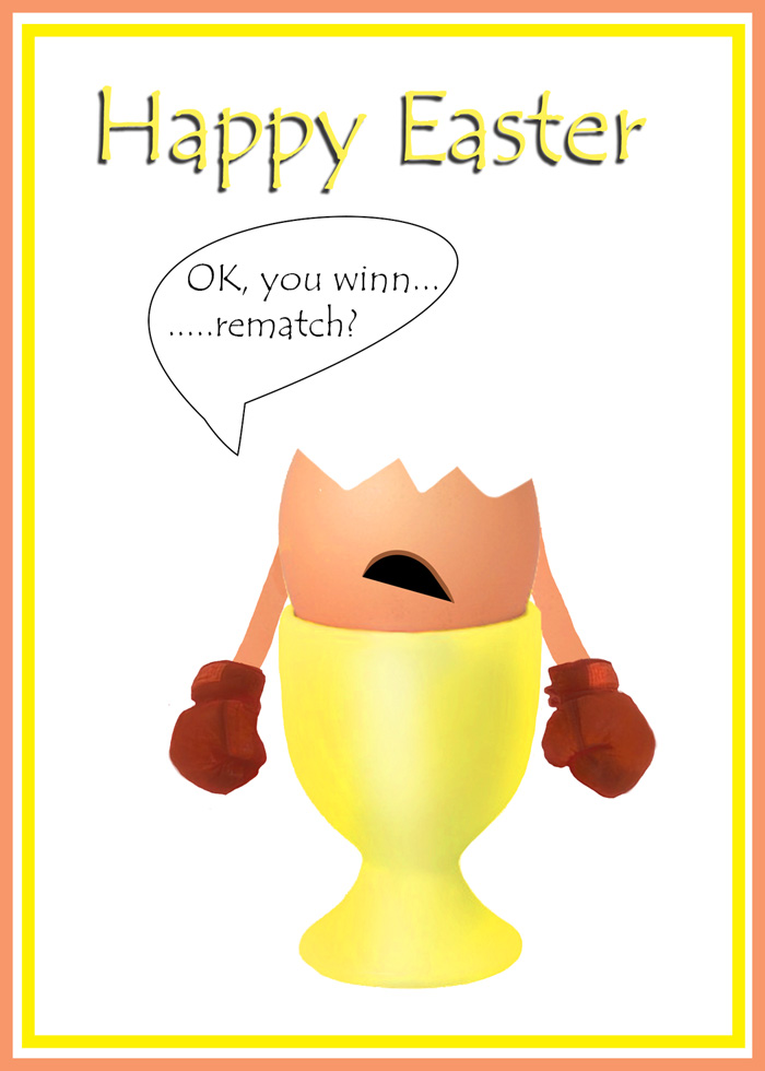 free funny Easter card