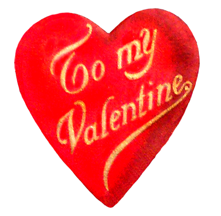 Valentine heart from blog