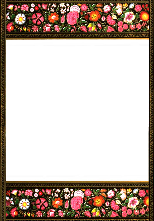 Indian style Victorian frames