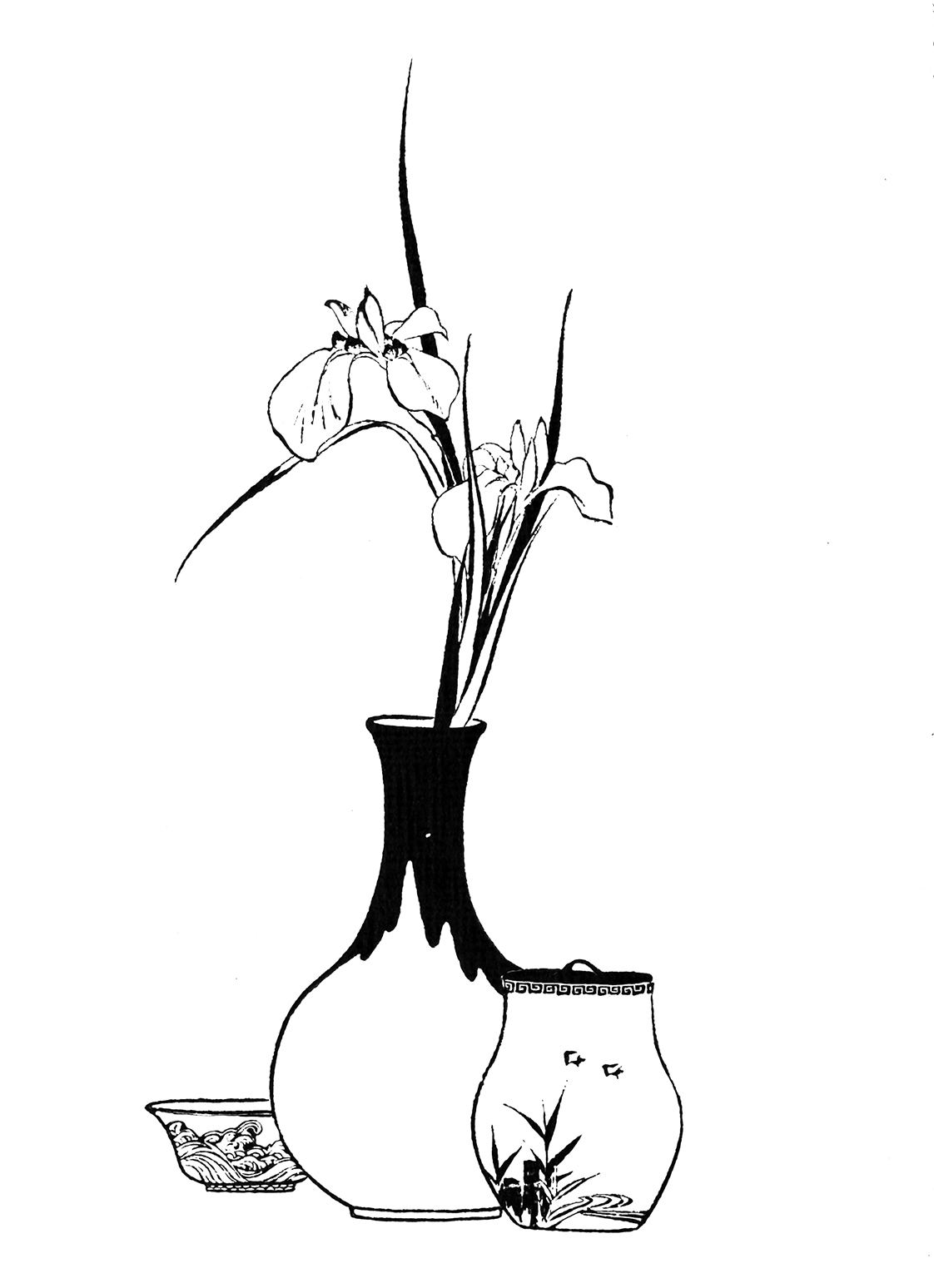 Flower coloring pages japanese flower coloring sheet reviewsmspy