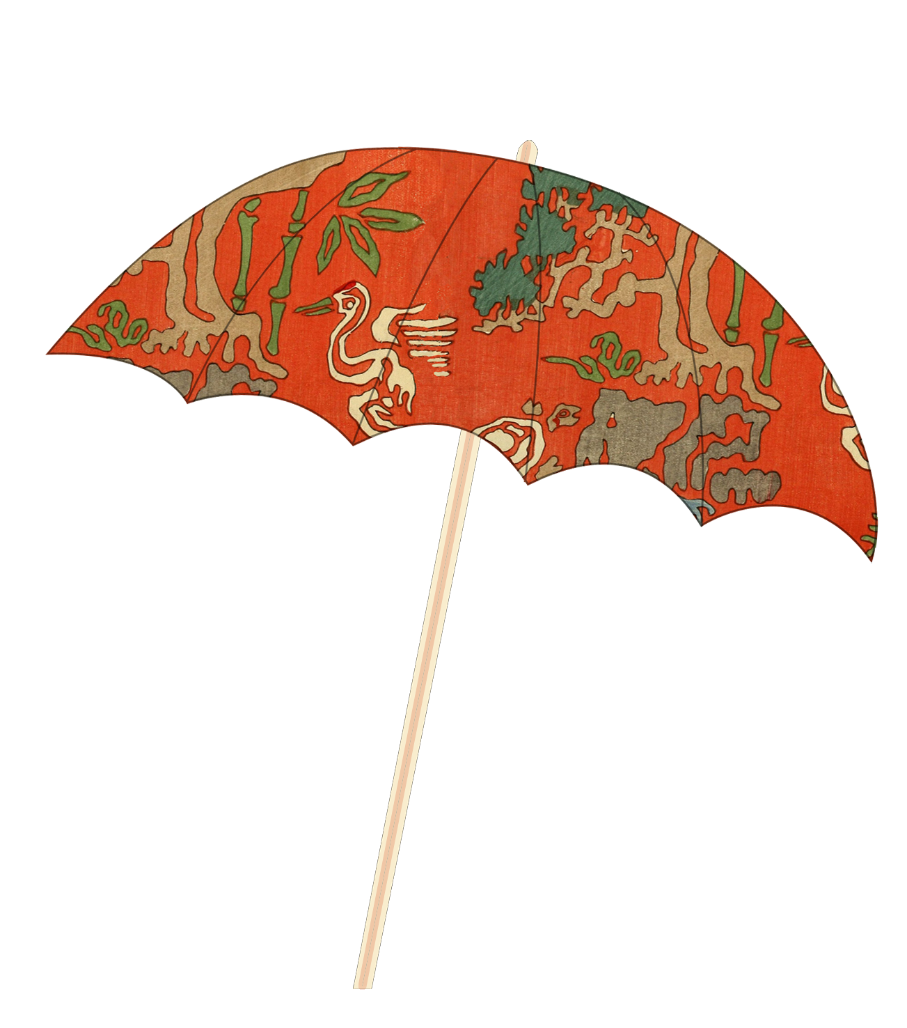 Japanese parasol umbrella