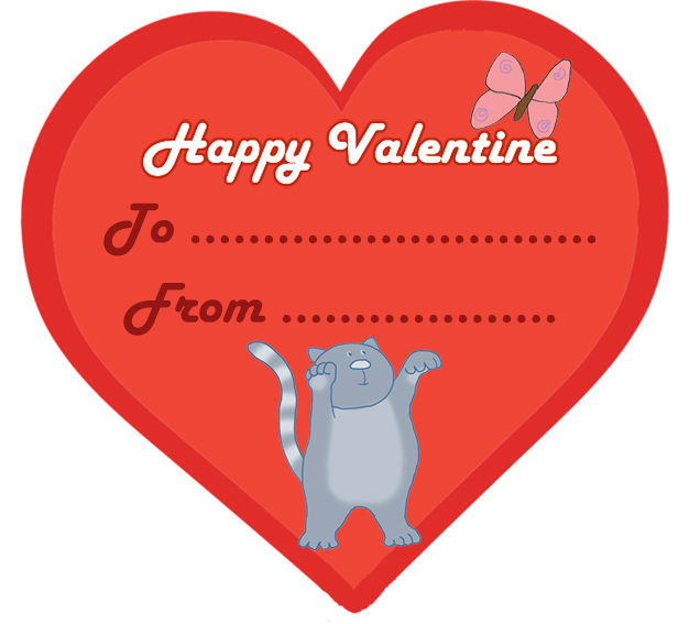 15 Funny and Cute Kids Valentine Cards – Valentines Day Cards to from