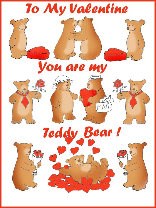 Free Valentine printable card