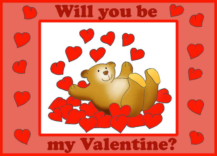 will you be my valentine cute