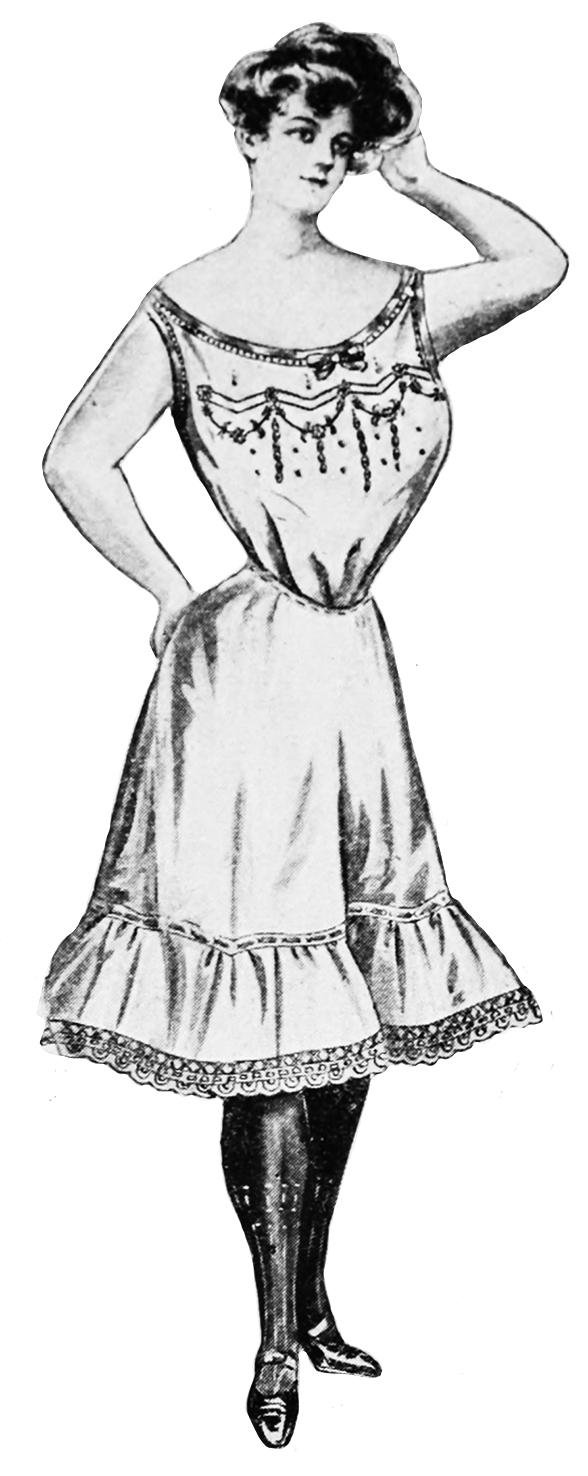 ladies Victorian fashion lingerie