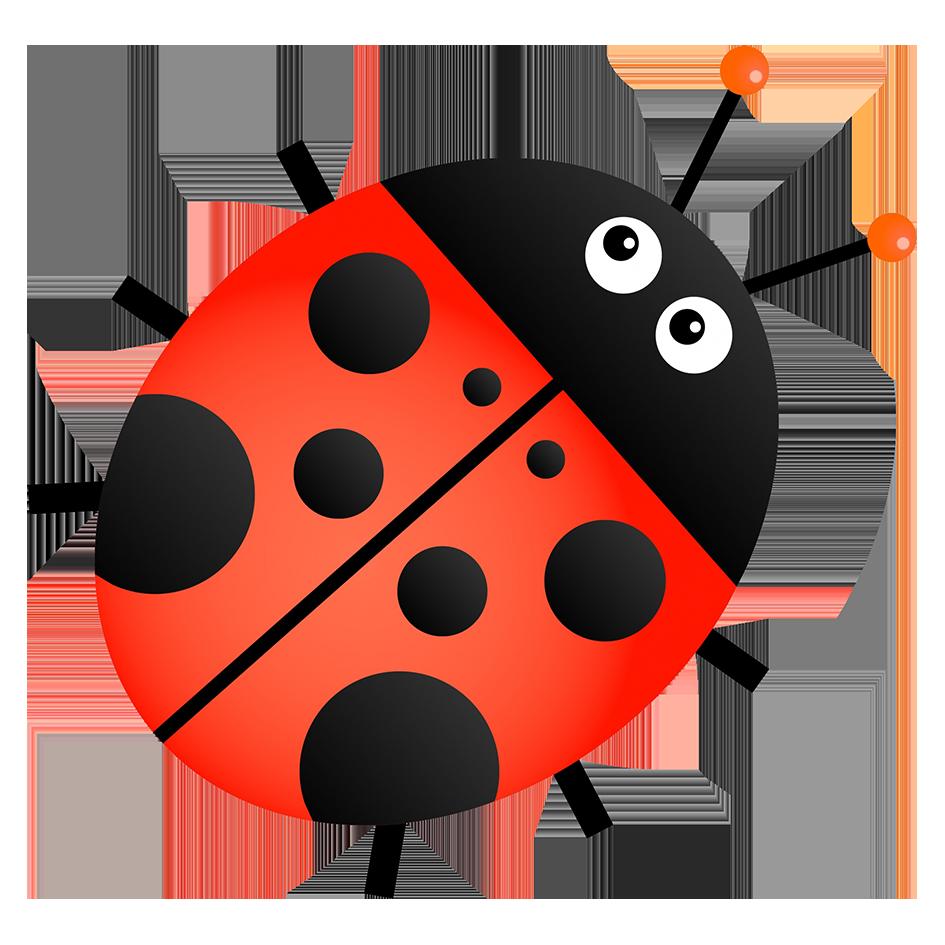 ladybug clipart simple