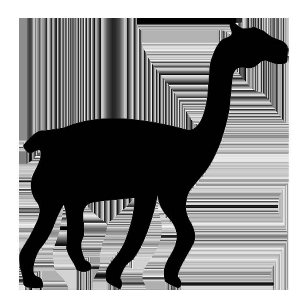 lama silhouette