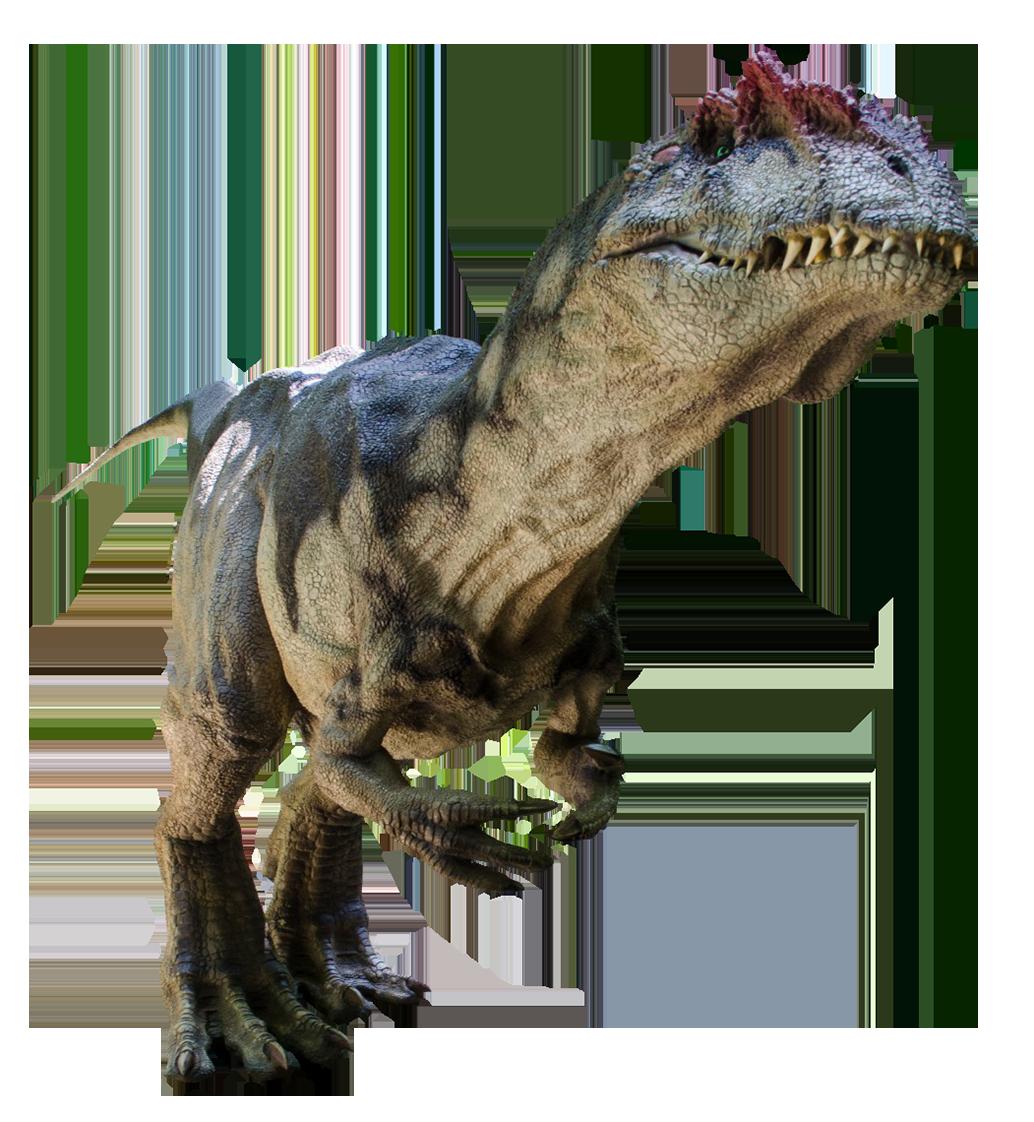 large dinosaur with large teeth