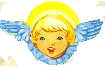 laughing angel scrap