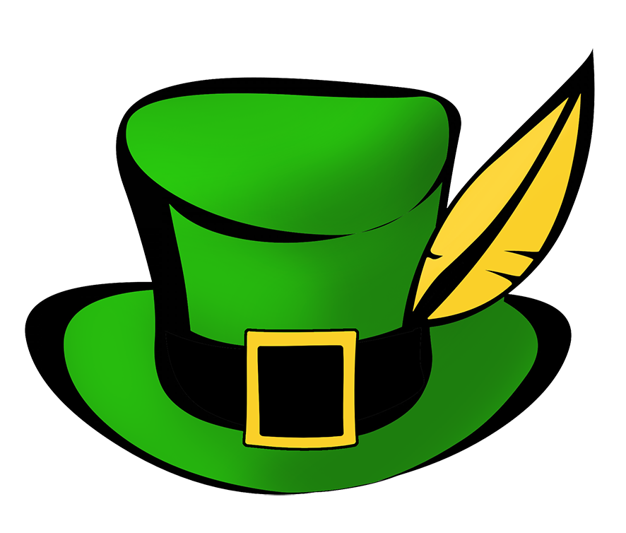 Leprechaun hat for St. Patrick's