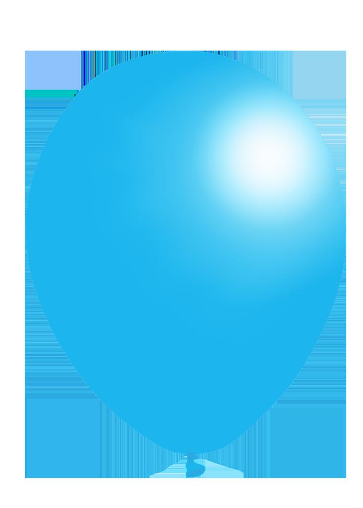 light blue balloon clip art