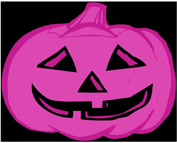 lila pumpkin head
