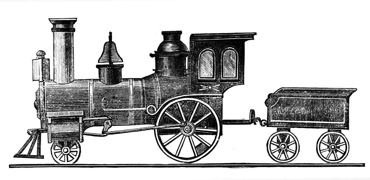 locomotive Victorian Era