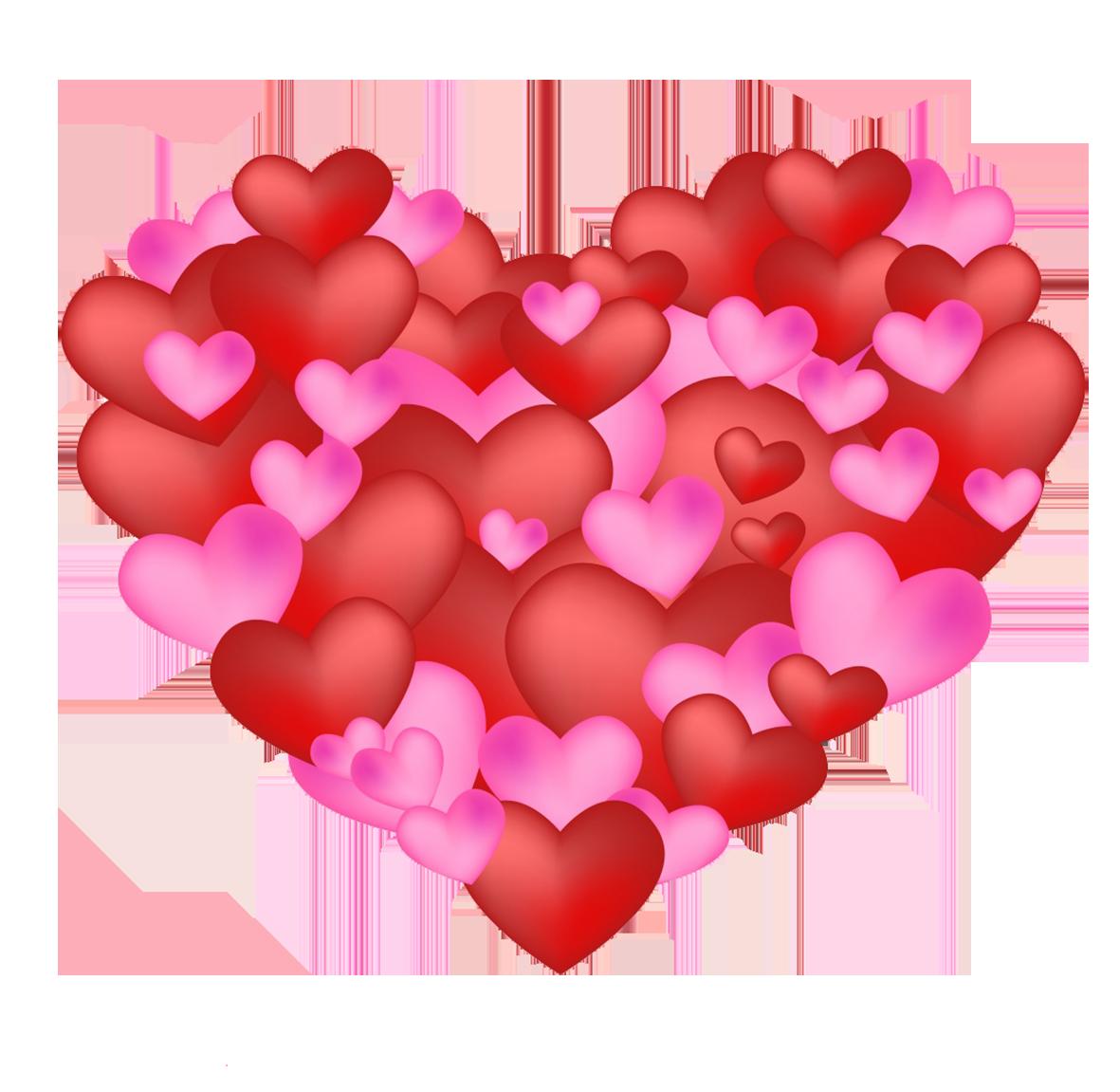 hearts in heart