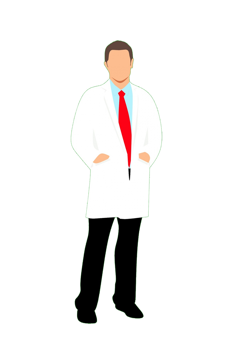 male doctor clipart PNG