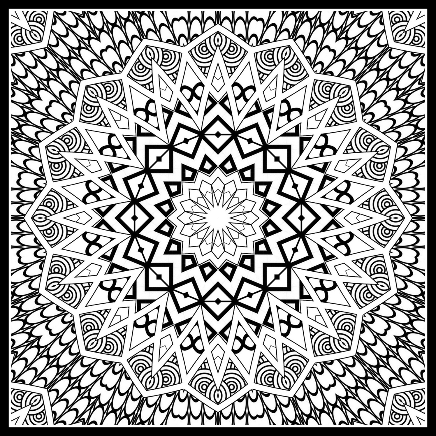 pattern for coloring