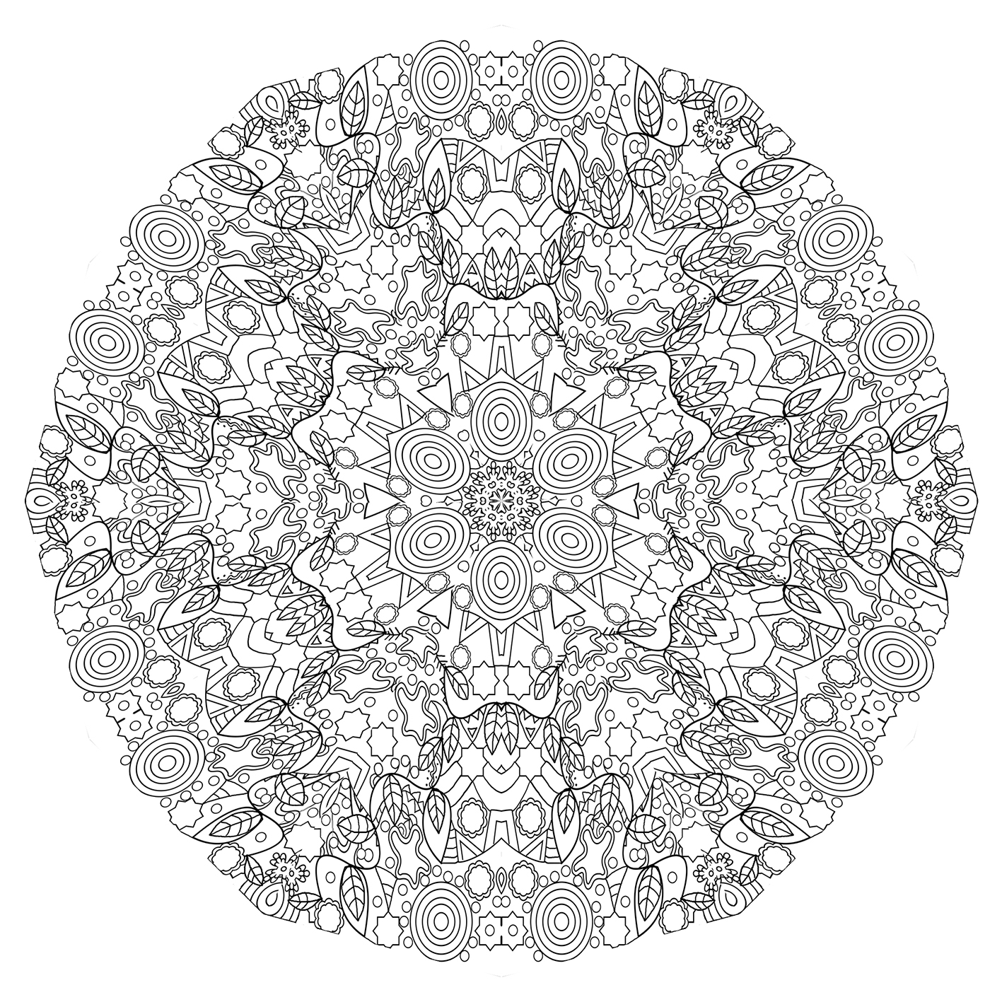 Beautiful mandala pattern