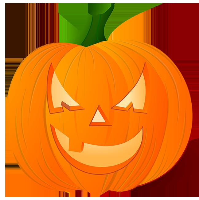 Mean looking pumpkin head