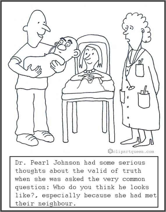 medical cartoons new baby