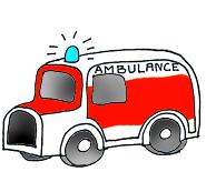 Medical images ambulance color