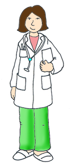 medical clip art female doctor hospital
