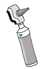 Medical clipart othoscope color