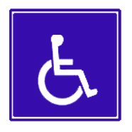 medical clip art wheelchair symbol