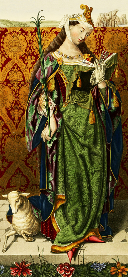 Medieval dress approx 1520