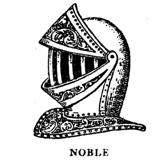 Medieval helmet for Noble men