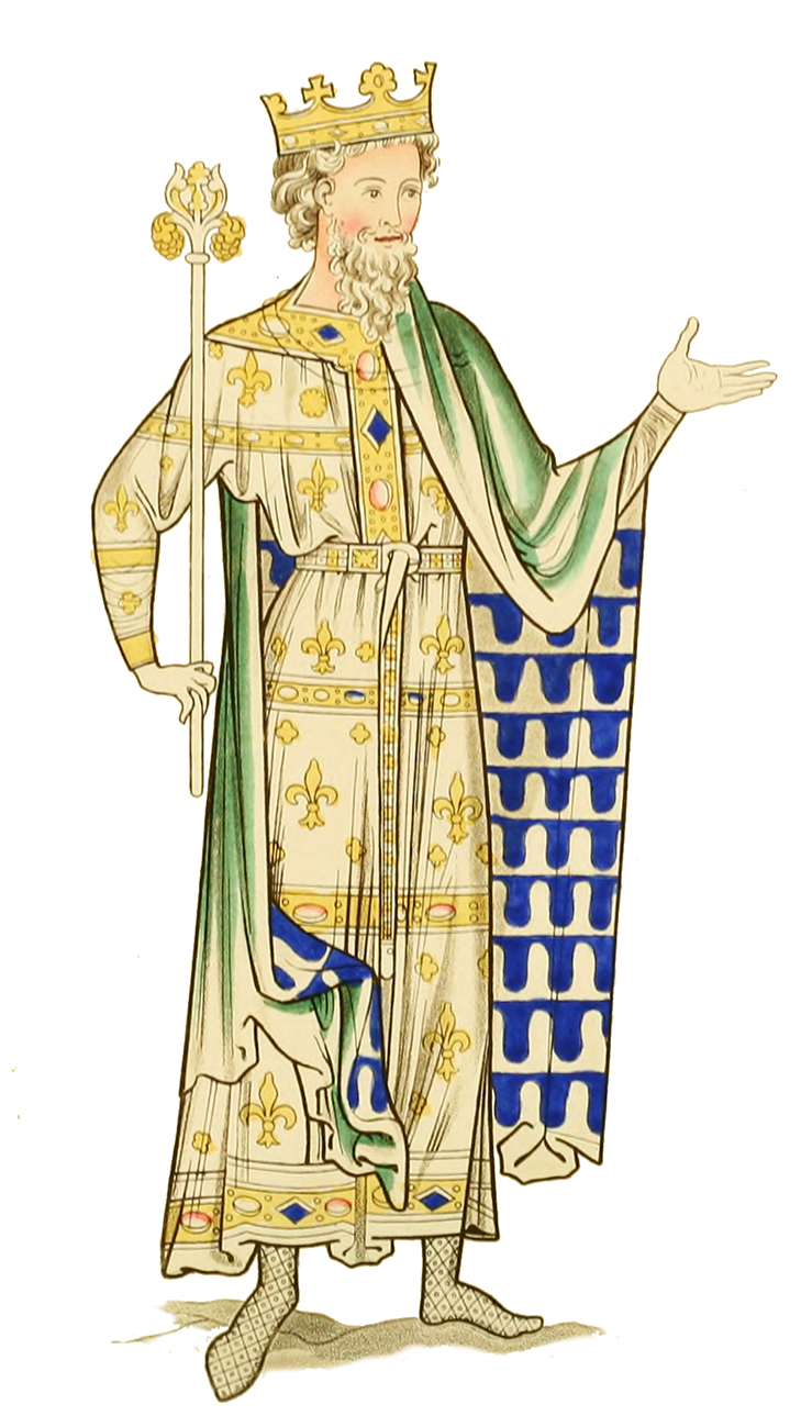 Medieval king 12th century