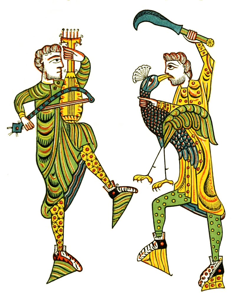 Medieval clip art 11th century