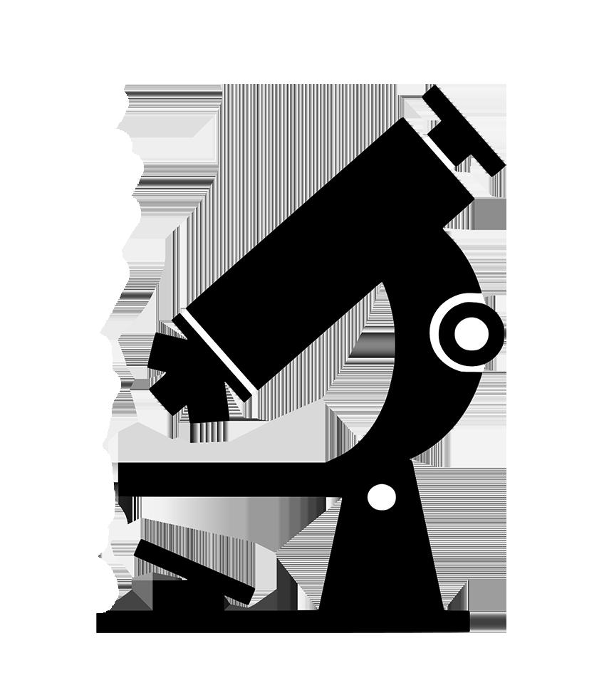 microscope silhouette