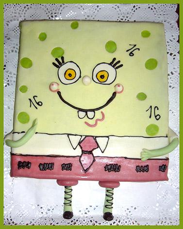 modern birthday cake