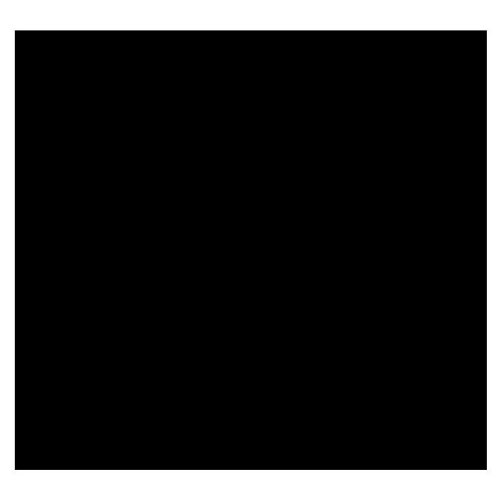 Dancer silhouette modern ballet black