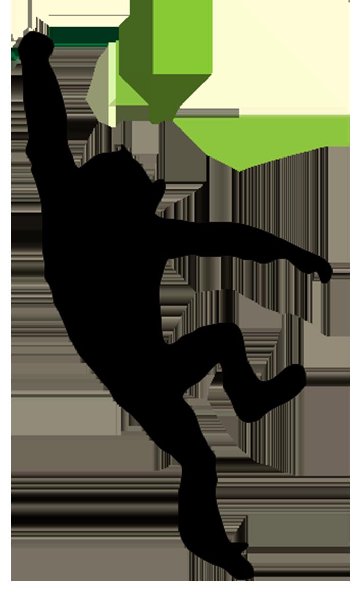 monkey silhouette clipart