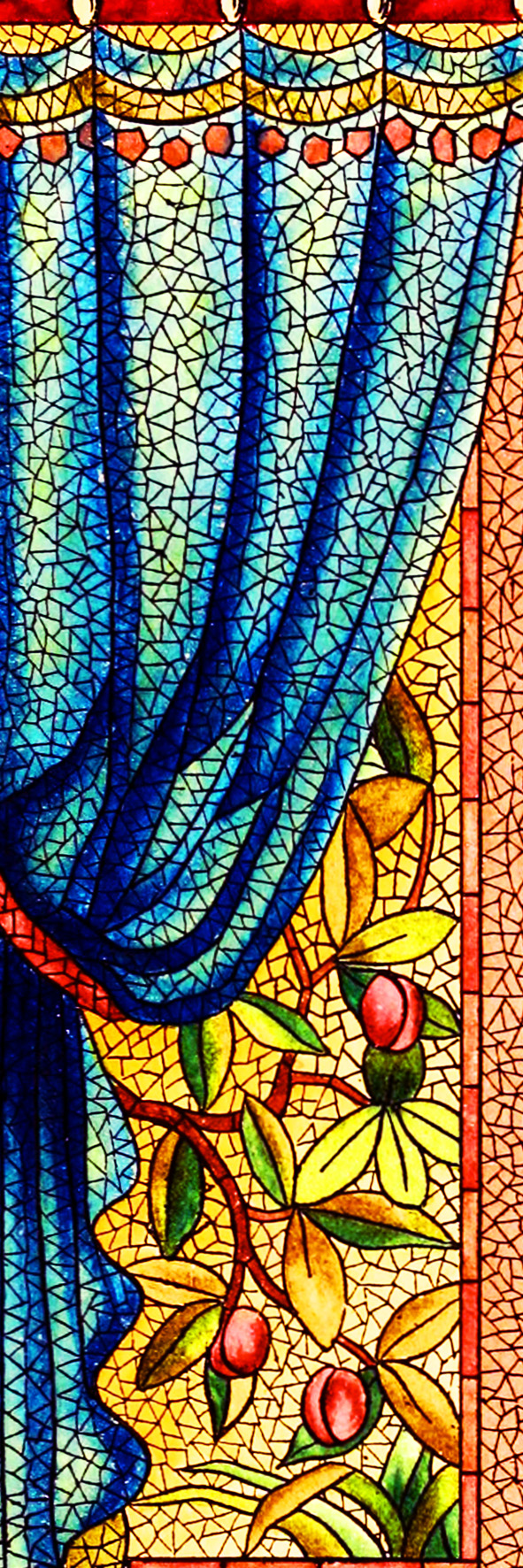 mosaics picture bookmark to print