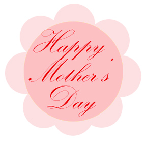mothers day clip art happy mothers day flower
