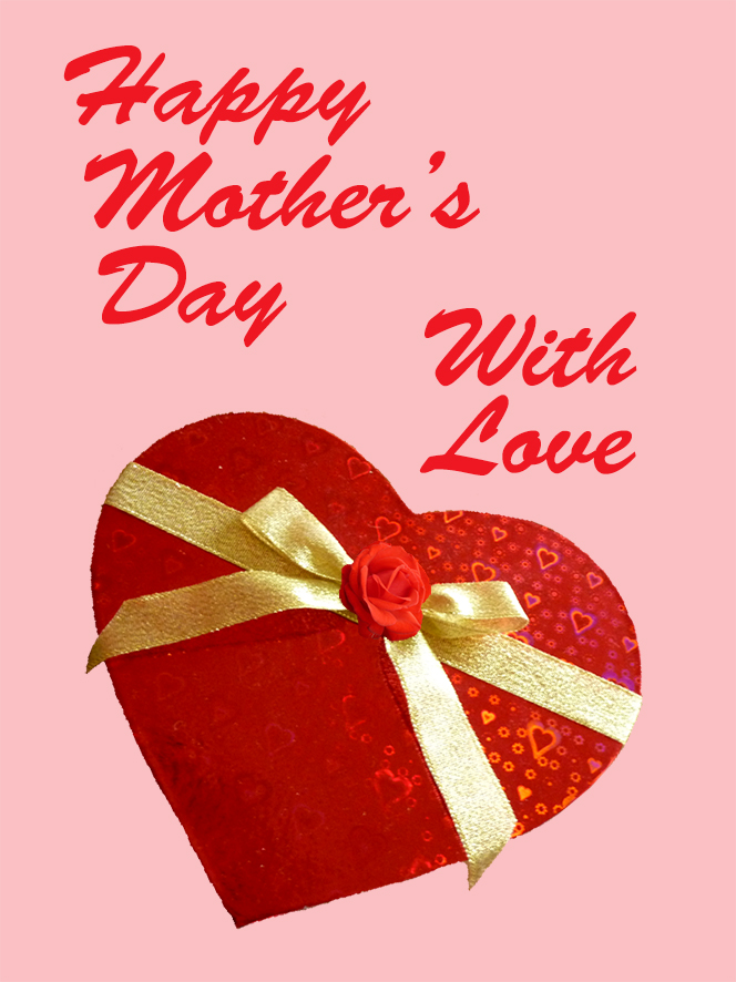 Happy Mothers day with love graphics