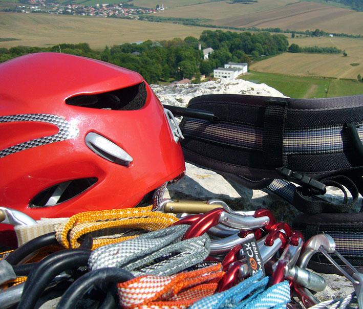 mountain climbing gear for the summer