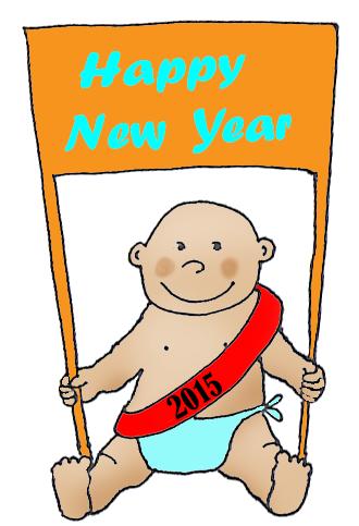 New Years baby 2015